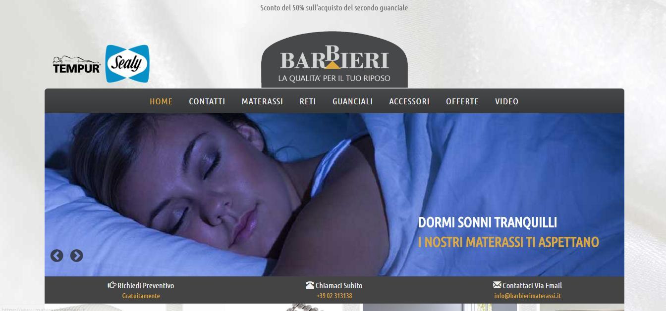 Barbieri: materassi a Milano delle migliori marche - Planet Web ...